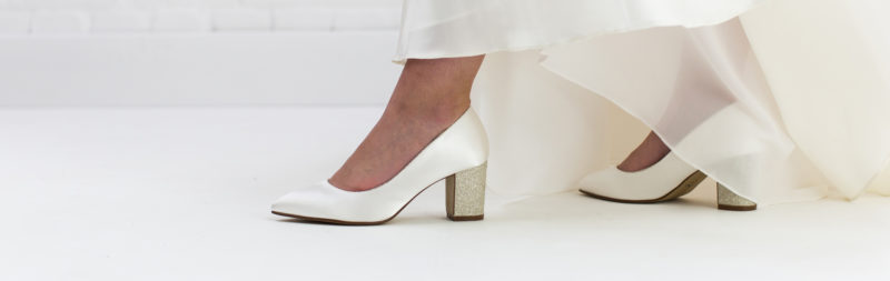 How to Work Sparkly Wedding Shoes