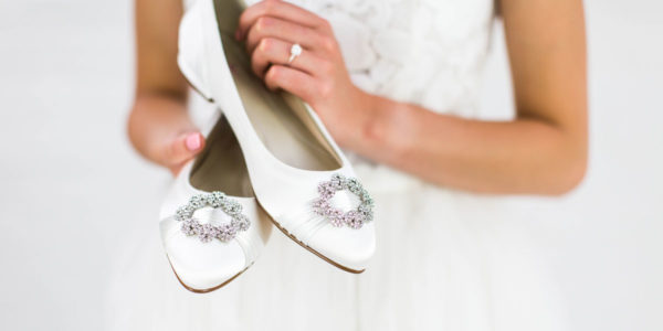 Rainbow Club Flat Wedding Shoes