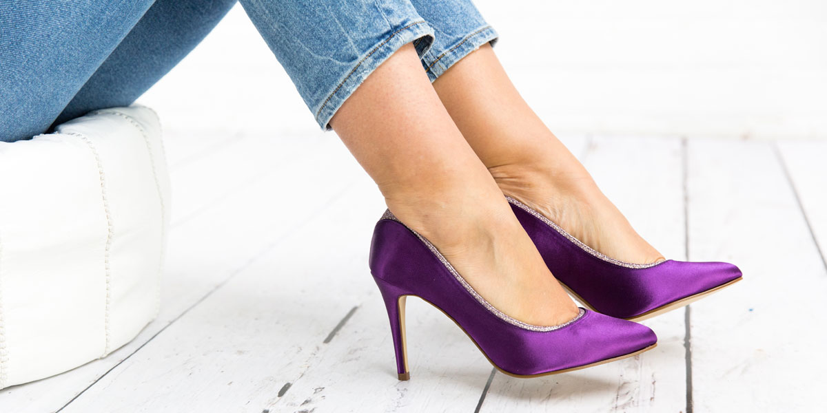 Work The Look Purple Wedding Shoes Rainbow Club Blog