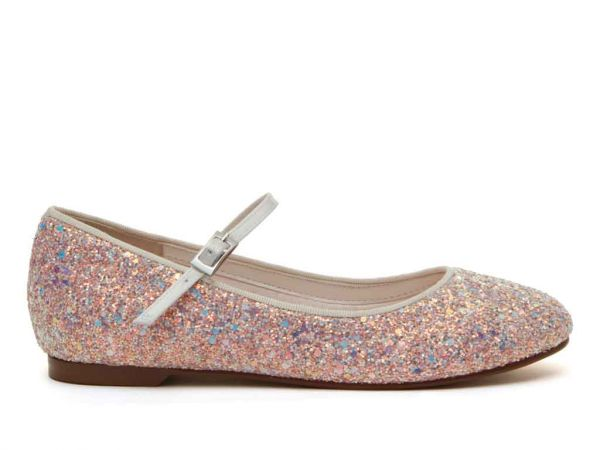 River - Pink Glitter Kids Shoes