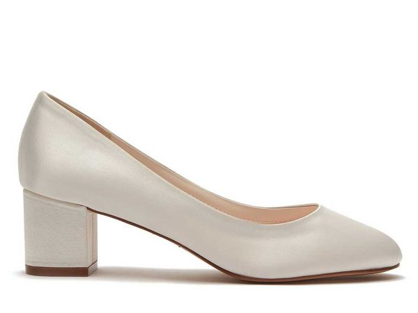 Serenity - Simple Sophisticated Bridal Court Shoes