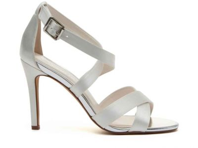 Luxurious Ivory Wedding Sandals - Reese is a sexy and sophisticated style for the modern bride