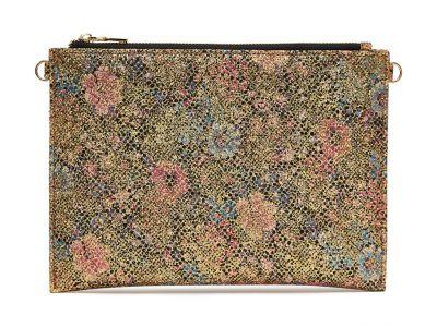 Suki - Gold Glitter Bomb Handbag