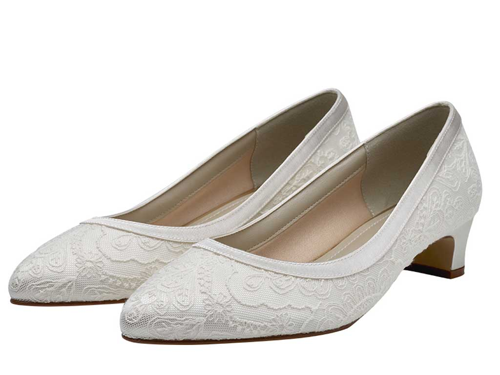 d9eb4164adff Rainbow Club Demi Ivory Lace Wide Fit Wedding Shoes LAST PAIRS!